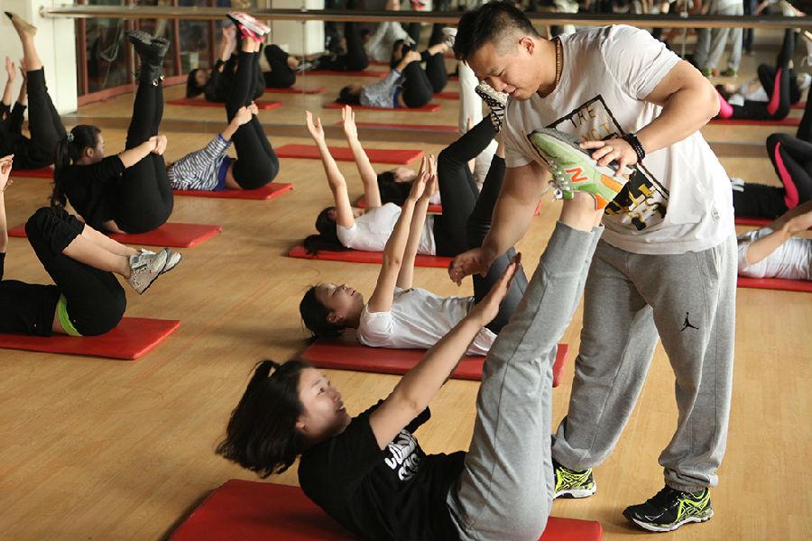北京高端商务模特训练秘诀 经常运动是吸引商务